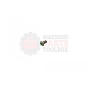 Lantech - Fastener Screw Machine 5-40 X .25 Button Head Cap Screw Black Oxide - 30140258
