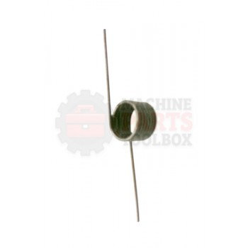 Lantech - Spring Torsion Music Wire 10.4 LB/IN X .078 Wire DIA X .803 OD X 7 Turns X 180 - 30143608