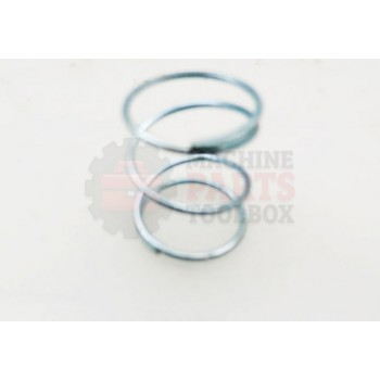 Lantech - Spring Compression Music Wire 13Lb/In 0.055 Wire Dia X 1 X 0.845 OD - 30143615