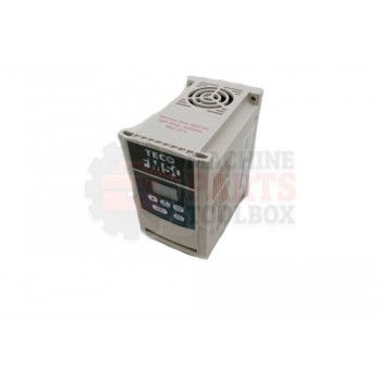 Lantech - Drive Variable Frequency Teco 1/2HP110 Single Phase IN 220 Three Phase Out - 30146759