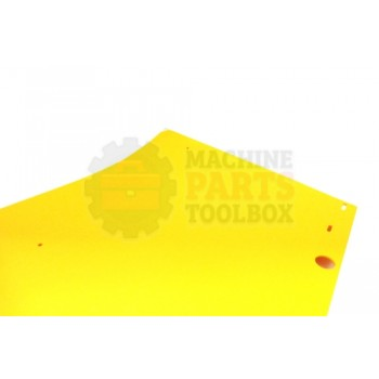 Lantech - Plate S-Semiautomatic Bumper Shield With Slotted Holes - 30149415