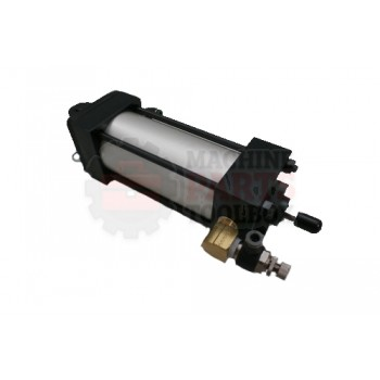 Lantech - Cylinder Air 2-1/2 In Bore With Fittings And Cushions / STD Flow - 30150878