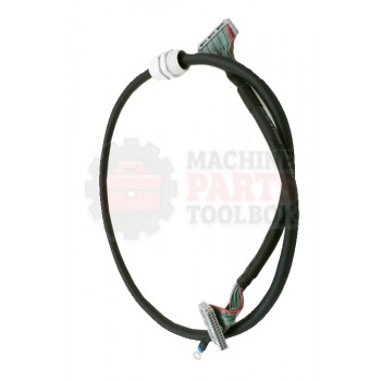 Lantech - Cable Special Function Q-Semi Membrane 26Cond 28Awg Flat Round 44Inch - 30151545