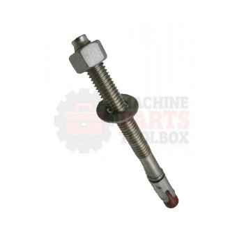 Lantech - Fastener Anchor Bolt 1/2-13 X 5-1/2 Kb-TZ SS304 - 30155554