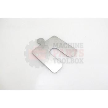 Lantech - Shim Stainless .050 Thk 2-1/2 X 2-1/2 W/11/16 Slot Horseshoe Style - 31000908