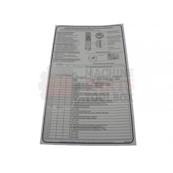 Lantech - Label Instruction 'Q-Semiautomatic XT Micro Controller Configuration Setup' - 31001521