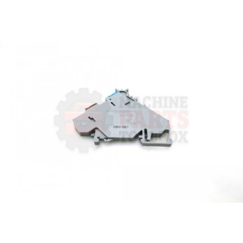 Lantech - Terminal Block Grey Sensor Supply Center Marking - 31001861