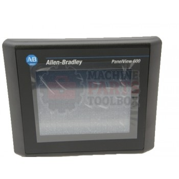 Lantech - Display Touch Screen Panelview 600 Color DF1 24VDC Touch Only - 31012421