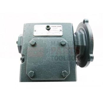 Lantech - Reducer BMQ 220 15:1 3-Right Angle 56C SHC 634 LUBE Modified Shaft - 31012450