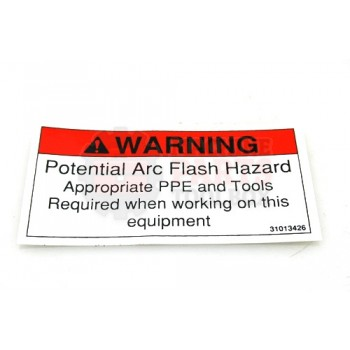 Lantech - Label Warning 'Potential ARC Flash Hazard...' - 31013426