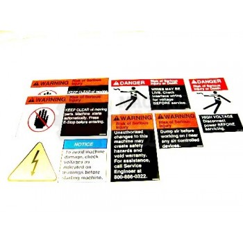 Lantech - Kit Label For Case Machines - 31015865