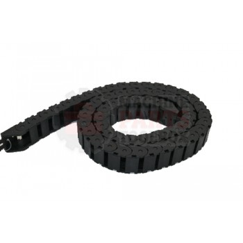 Lantech - Carrier Cable Closed 28MM Wide 3IN Bend Radius Black Plastic - 31015961