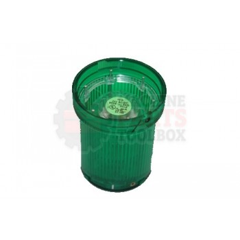 Lantech - Beacon Light Module Green Steady Led 24V AC/DC - 31019394
