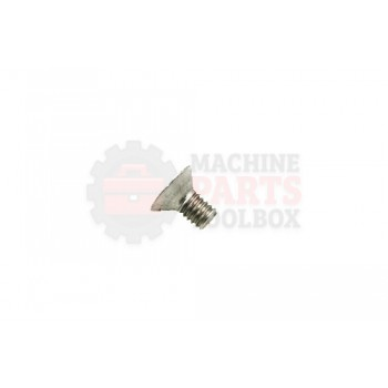 Lantech - Fastener Bolt M6X1.0 X 10MM Flat Head Socket Cap 18-8 Stainless Steel - 31023471
