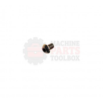 Lantech - Fastener Bolt M6 X 1.0 X 10MM Button Head Grade 8 - 31016796