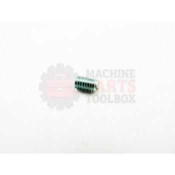 Lantech - Fastener Setscrew M5 X 8MM Socketset EXT Knurled Cup PONT - 31026383