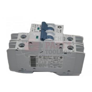Lantech - Circuit Breaker 2 Pole 5 AMP 480 Volt D Trip UL489 Allen Bradley - 31035104