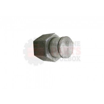 Lantech - Shaft Machined Wheel ASM Ring Straddle - 31038061