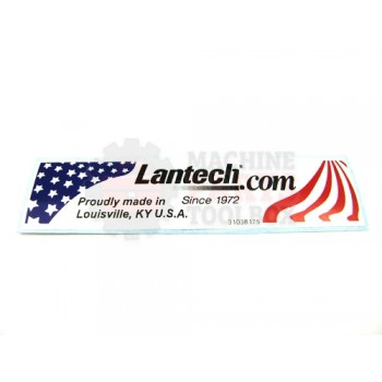 Lantech - Label Logo 'Made In The USA' (Replaces 30023004) - 31038175