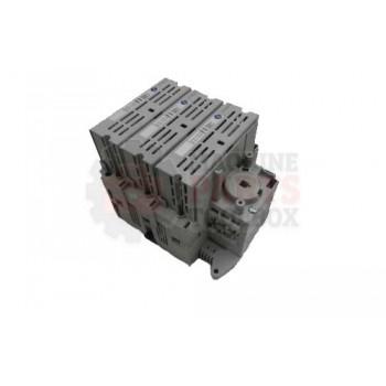 Lantech - Disconnect Fusible Door Mount Variable Depth 60A Class J Finger Safe - 31041924