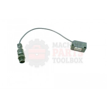 Lantech - Switch Photocell Visisight Standard Diffuse Red DC - 2 Complementary LO/DO Outputs Source (PNP) 4-Pin DC Micro QD On 152MM (6IN) Pigtail - 31042641