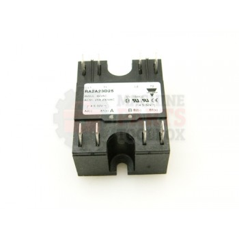 Lantech - Relay Solid-State 230VAC 25A 2 Pole ZS Led Indicators - 31047426