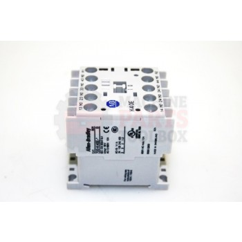 Lantech - Relay Industrial 700-K MCS Mini Contactors/ Screw Type Terminals/ System Control Voltage: 24 (17-30)V DC DIODE/ 4NO Auxiliary Contacts - 31051400