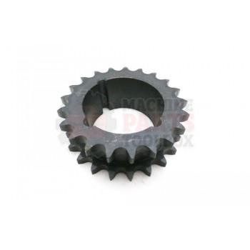 Lantech - Sprocket DS60ATB21H For Taper Bushing 2517 - 31054792