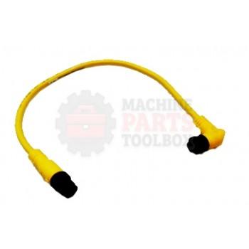Lantech - Cable Electrical Extension 4COND 22AWG 90DEG-F STR-M Micro QD 1FT PVC - 31074373