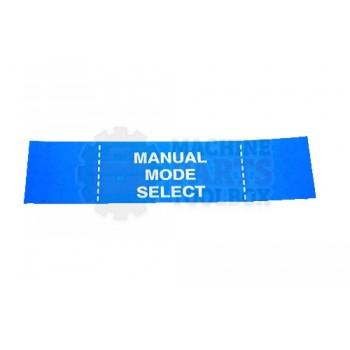 Lantech - Membrane Insert Manual MODE SEL-Blue - 35002146