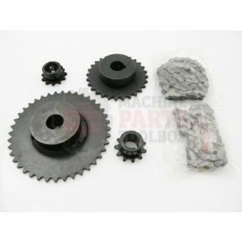 Lantech - Pre-Stretch Kit 150% V2 SPRKT PRS Non-EZ - 40016104