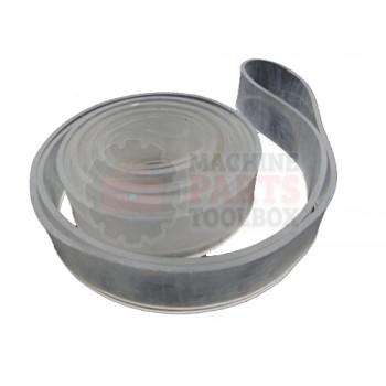 Lantech - Rubber Band 3MMX1 1/4 Inch X 115 Inch (Urethane) - 40089302