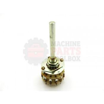 Lantech - Resistor Assy 6RPM Bot Non-CONV - 50032001