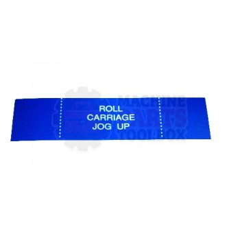 Lantech - Membrane Insert Roll Carriage Up-Blue - 50170301