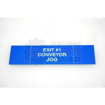 Lantech - Membrane Insert Blue Exit #1 CNVR Jog - 50170317