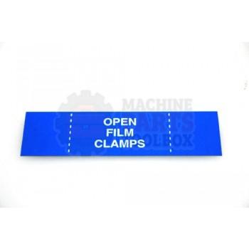 Lantech - Membrane Insert Open Film Clamps-Blue - 50170320