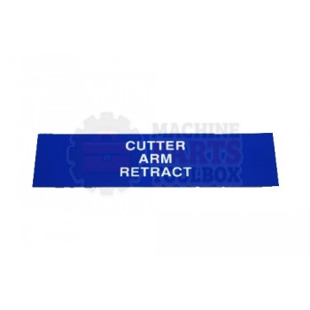 Lantech - Membrane Insert Cutter Arm Retract-Blue - 50170325