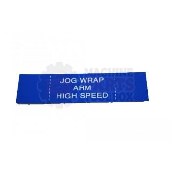 Lantech - Membrane Insert Blue Jog Wrap Arm HI - 50170341