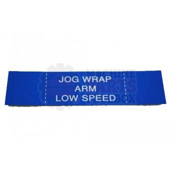 Lantech - Membrane Insert Blue Jog Wrap Arm Low - 50170342