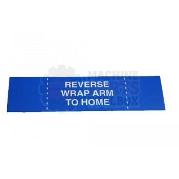 Lantech - Membrane Insert Blue Reverse Wrap Arm - 50170343