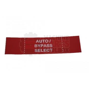 Lantech - Membrane Insert H4 Auto BYPASS-Red - 50170601