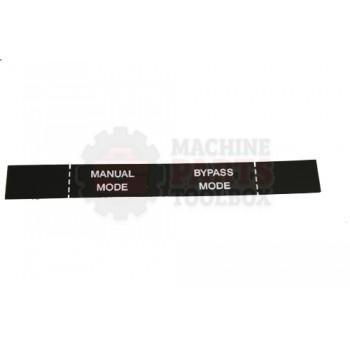 Lantech - Membrane Insert Power ON/Auto MODE-Black - 50170705