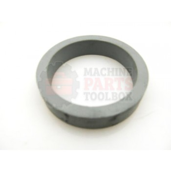 Lantech - Seal O-Ring Silicone 1/2 Inch Wide High Temperature 80 DURO BLK/Gray High TEMP - 85004380
