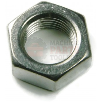 Lantech - Fastener Nut Hex Jam 7/16-20 Grade 2 - C-004465