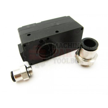 Lantech - Vacuum Pump M20 1/8 NPT Air 3/8 NPS VAC - C-004894