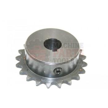 Lantech - Sprocket 35BS21 5/8 Bore W/KWY 2SS - C-005322