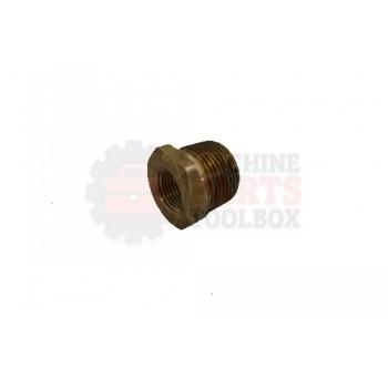 Lantech - Bushing RDC Brass 3/4-1/2 NPT - C-005549
