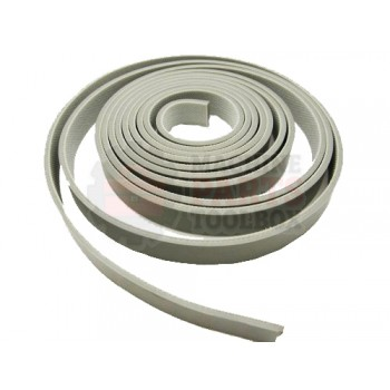 Lantech - Belt 9/16 Wide BY 10 Feet IN Length Smooth Top Gray - C-007079