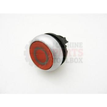 Lantech - Switch Push Button Red Illuminated Plate 0 - EC10637