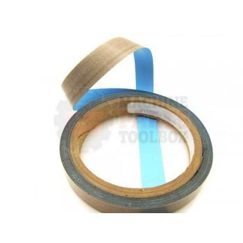 Lantech - Tape TEFLON 2 1/2 Inch Wide 5 Mil THK (1296 Inches Per Roll) - M2303000